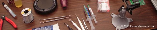 Asequible herramientas para la soldadura de montaje en superficie